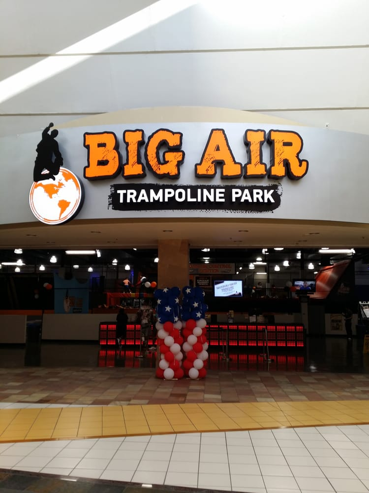 the big air trampoline park grand entrance