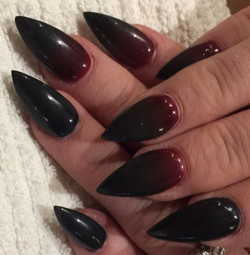 My Vampire Costume Nails Mike Did A Great Job Yelp