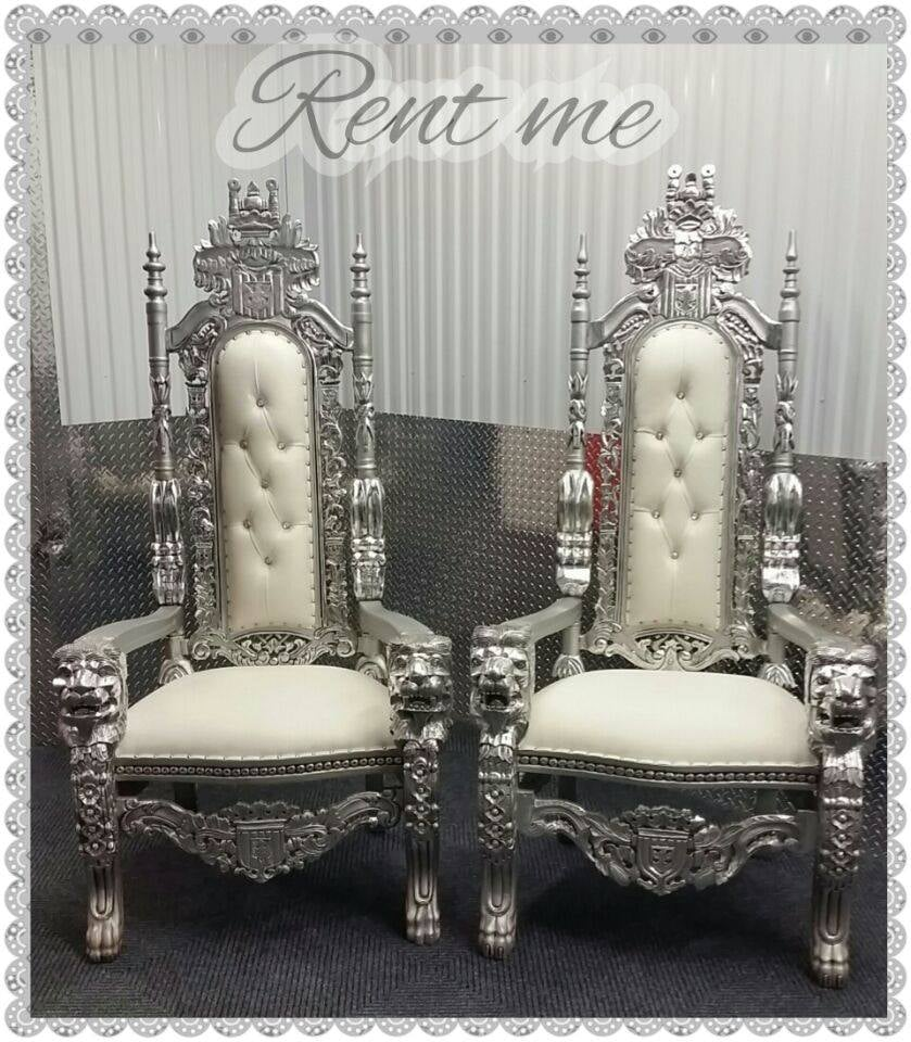 king and queen throne chair rentals Yelp