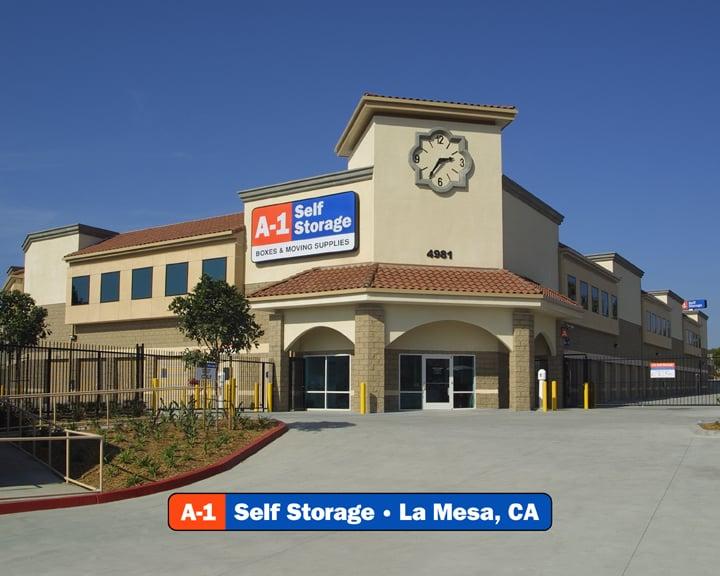 A-1 Self Storage: 4981 Spring St, La Mesa, CA