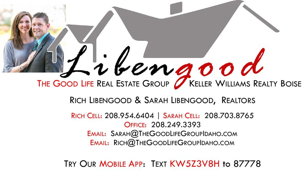 The Good Life Real Estate Group at Keller Williams Realty Boise | 1065 S Allante Pl, Boise, ID, 83709 | +1 (208) 703-8765