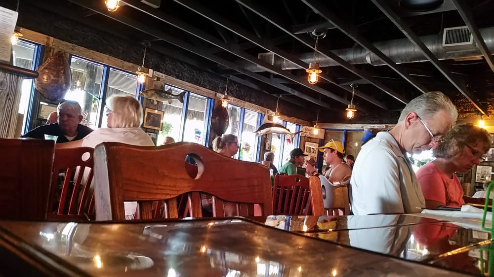 Restaurant interior yelp for Walts fish market
