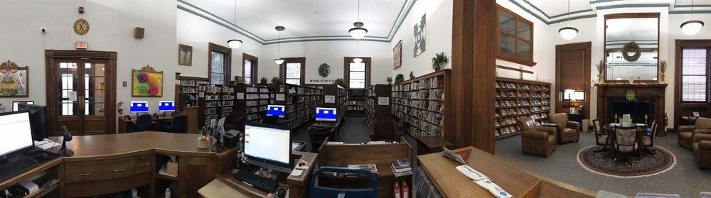 Woodward Memorial Library: 7 Wolcott St, Le Roy, NY
