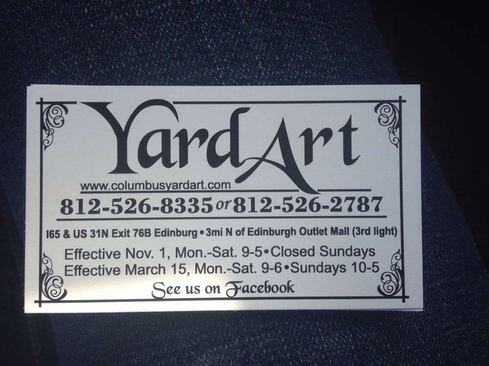 Business card. - Yelp