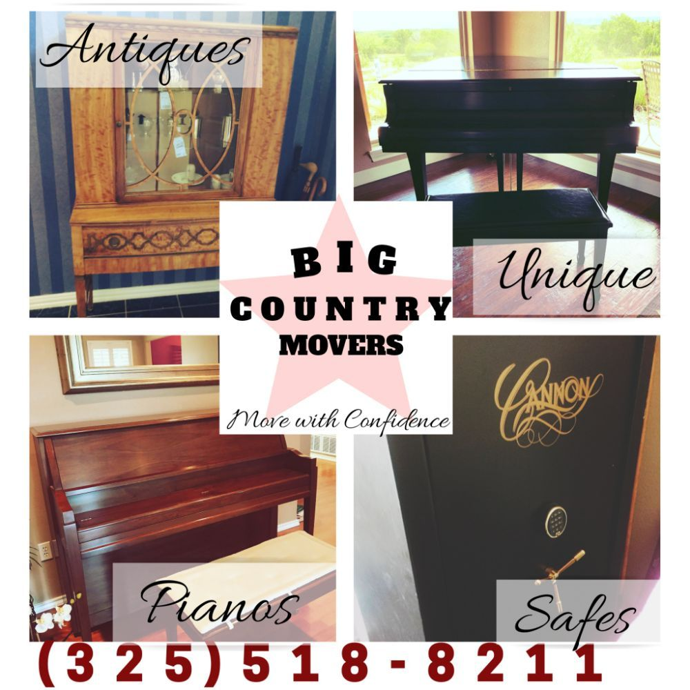 Big Country Movers: Abilene, TX