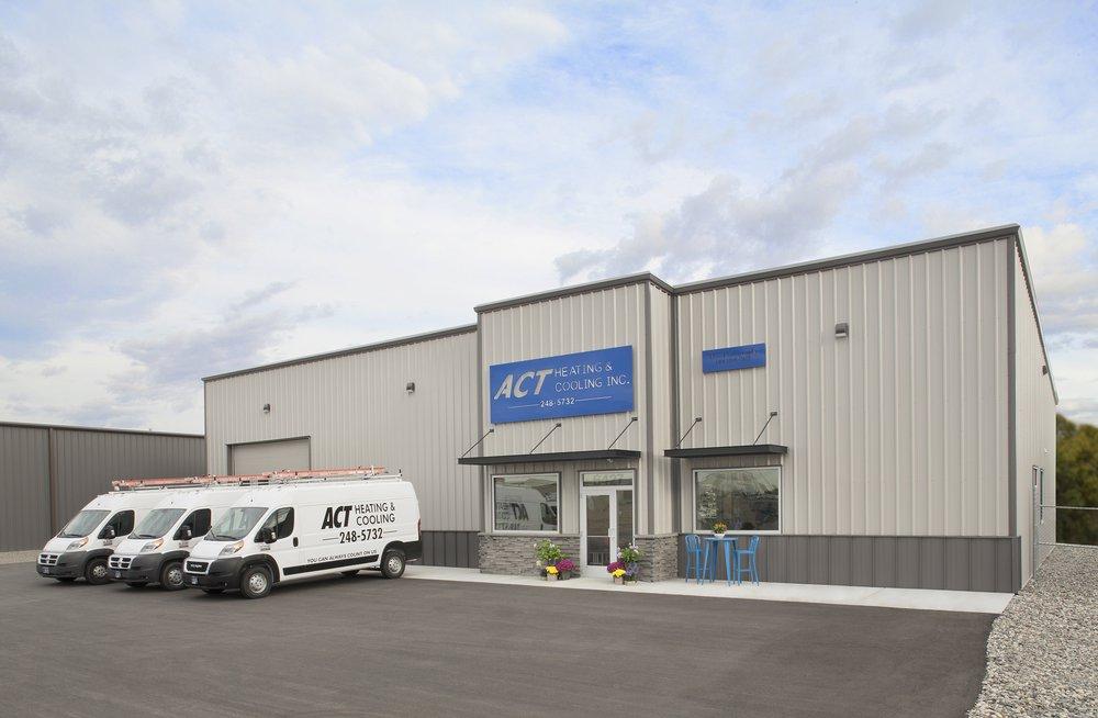ACT Heating & Cooling: 6427 Western Way, Billings, MT