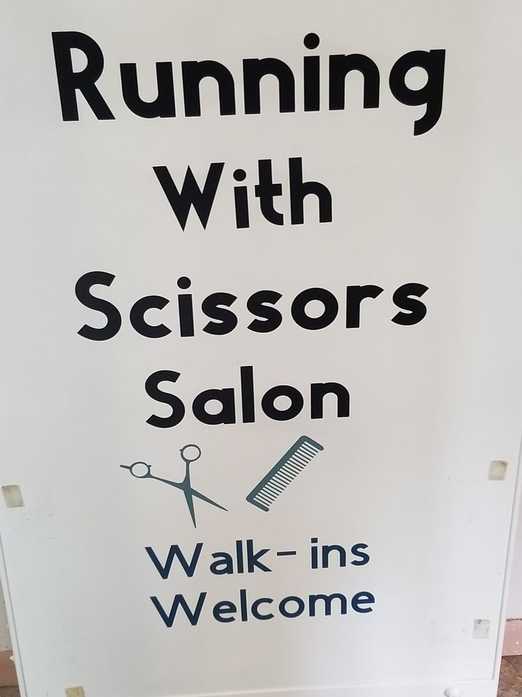 Running With Scissors Hair & Nail Salon: 1325 W Whittaker St, Salem, IL