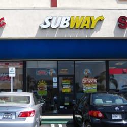 Subway Restaurants San Fernando Ca
