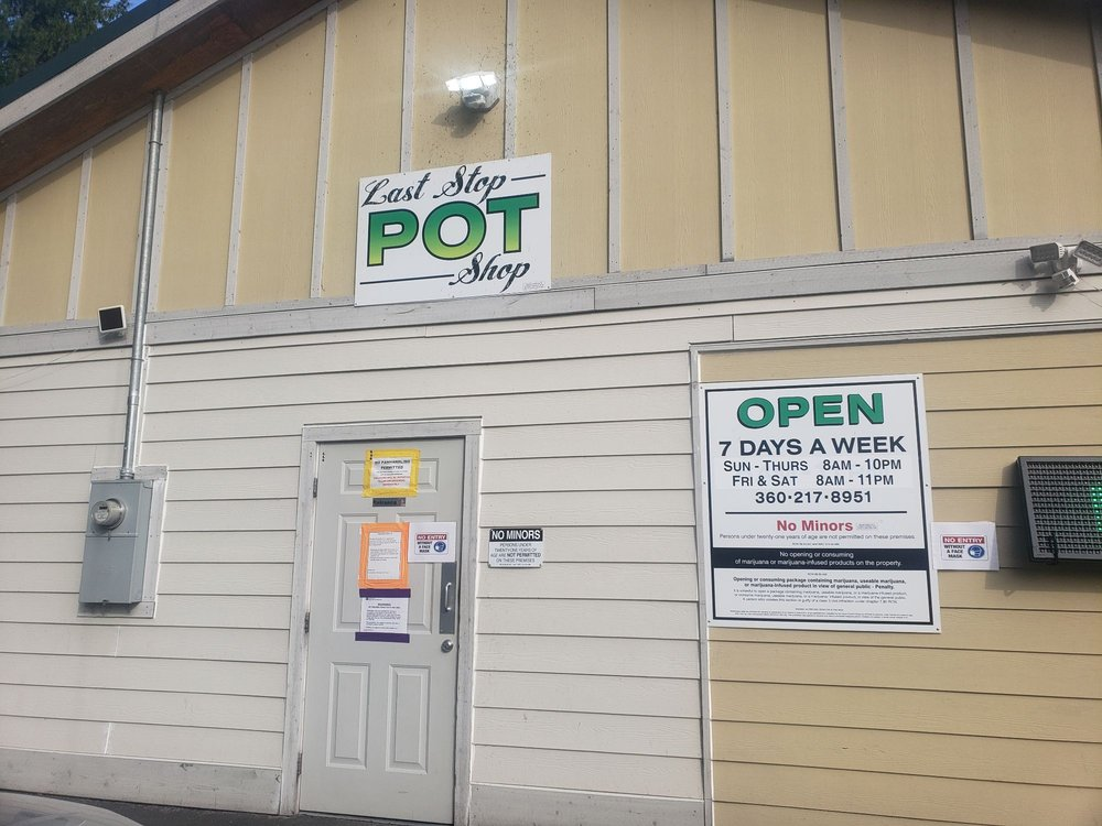 Last Stop Pot Shop: 41711 US-2, Gold Bar, WA