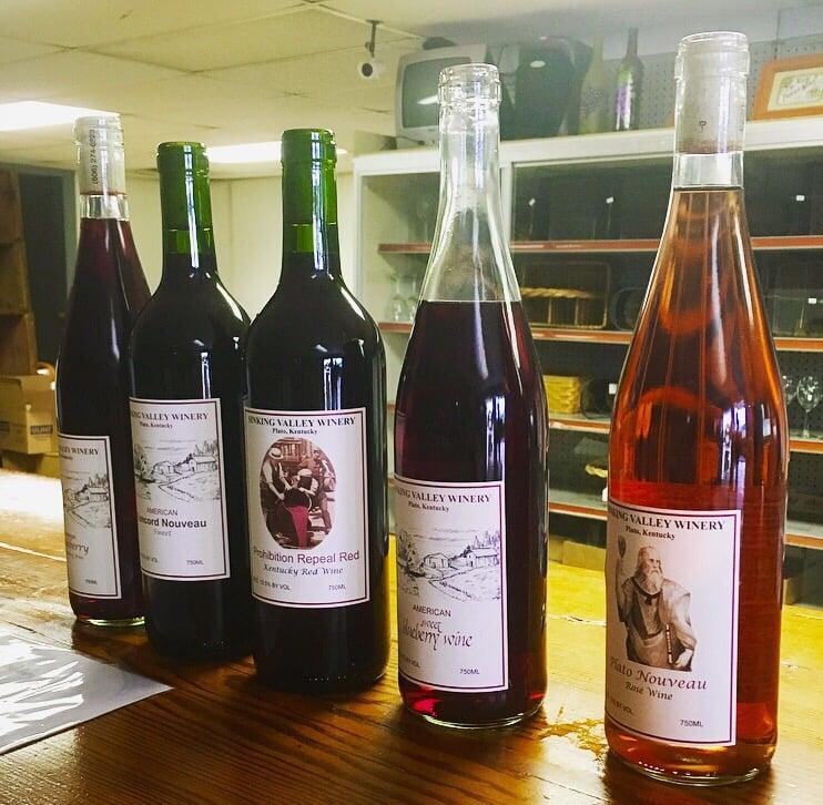 Sinking Valley Vineyard & Winery: 6515 Hwy 461, Somerset, KY