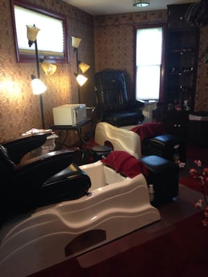 Photo Of Elizabethu0027s On Maple Day Spa   Zanesville, OH, United States.  Pedicure