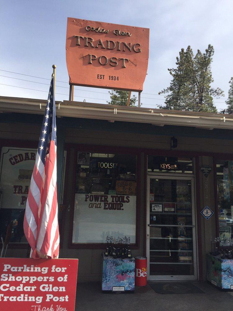 Cedar Glen Trading Post: 28946 Hook Creek Rd, San Bernardino, CA