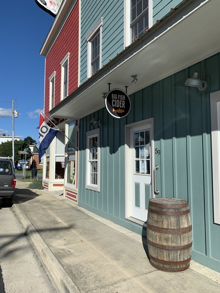 Big Fish Cider: 59 Spruce St, Monterey, VA