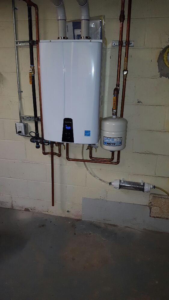 Navien Npe 240a Tankless Hotwater Heater With Recirculation Pump