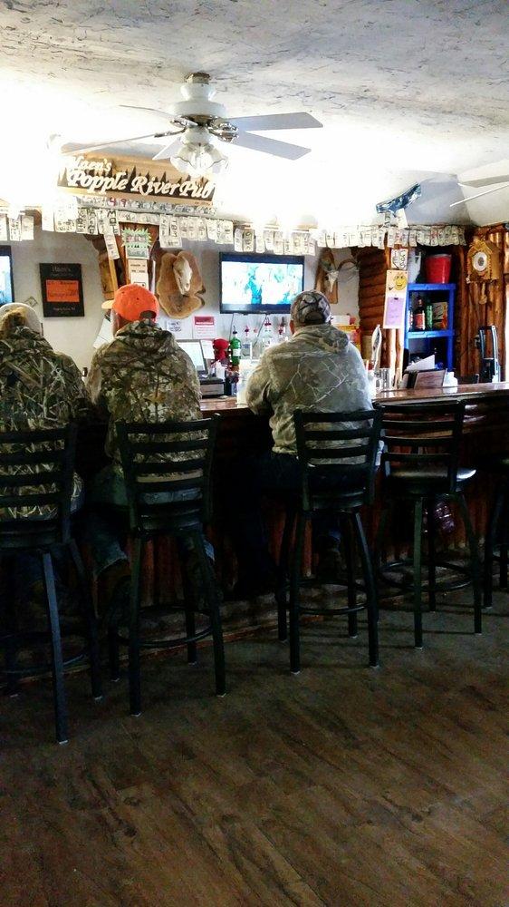 Haen's Popple River Pub: 4985 Pople River Rd, Argonne, WI