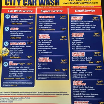 City Car Wash West Palm Beach