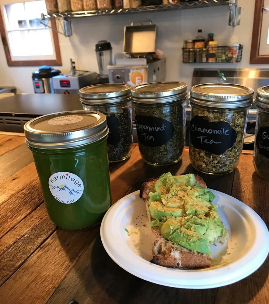 Hermitage Organic Cafe & Juicery: 2806 CA-158, June Lake, CA