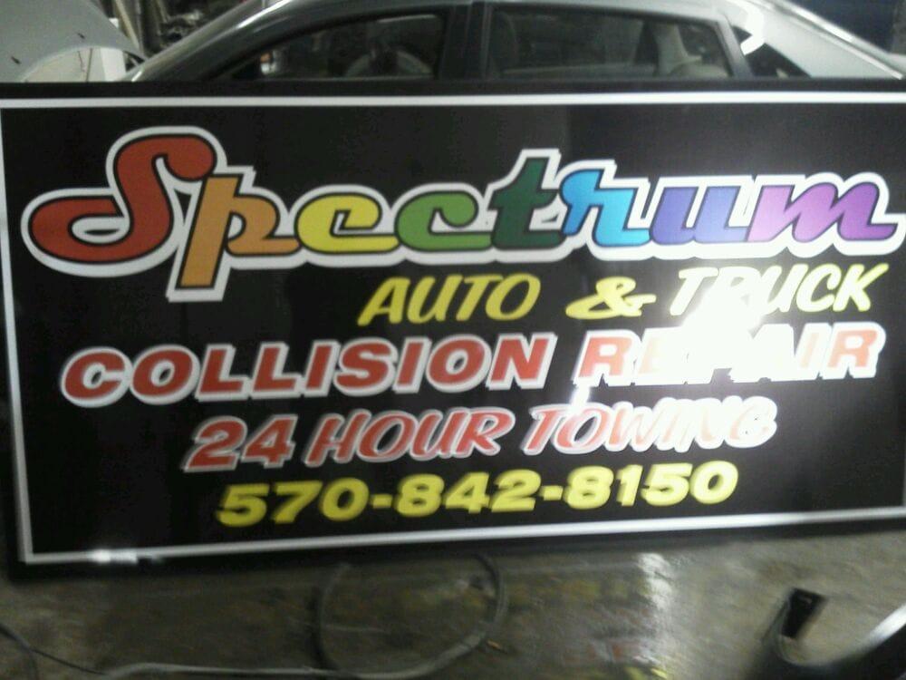 Spectrum Collision Center: 211 Market St, Moscow, PA