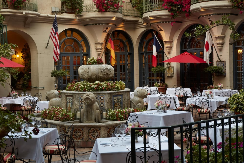 Photo Of Mission Inn Restaurant Riverside Ca United States Al Fresco Dining