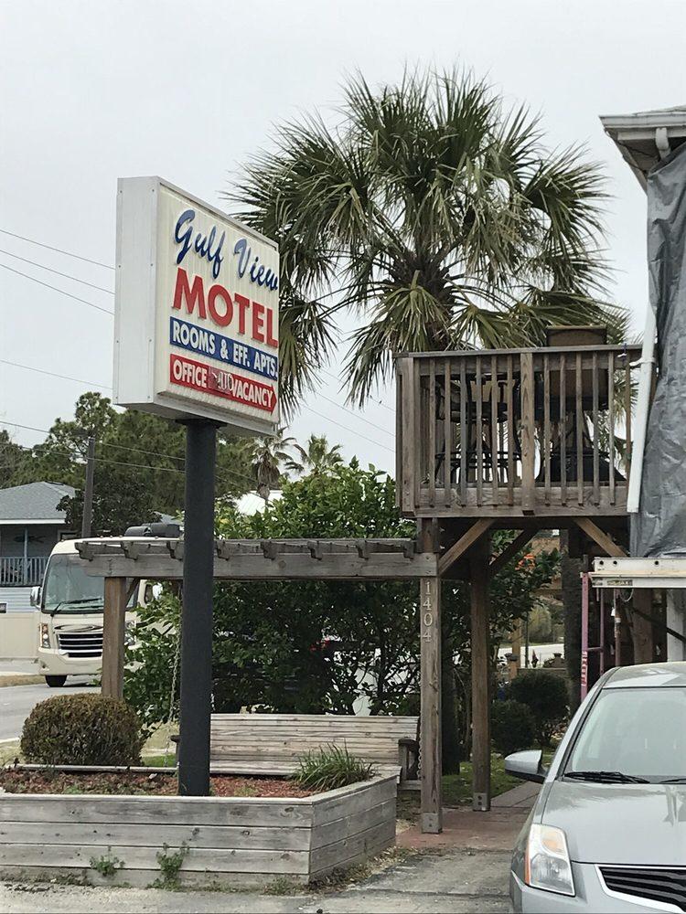 Gulf View Motel: 1404 Highway 98, Mexico Beach, FL