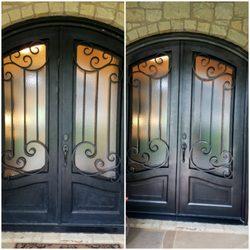 Photo of Austin Door Refinishing - Austin TX United States. Iron Door & Austin Door Refinishing - 69 Photos u0026 17 Reviews - Refinishing ...
