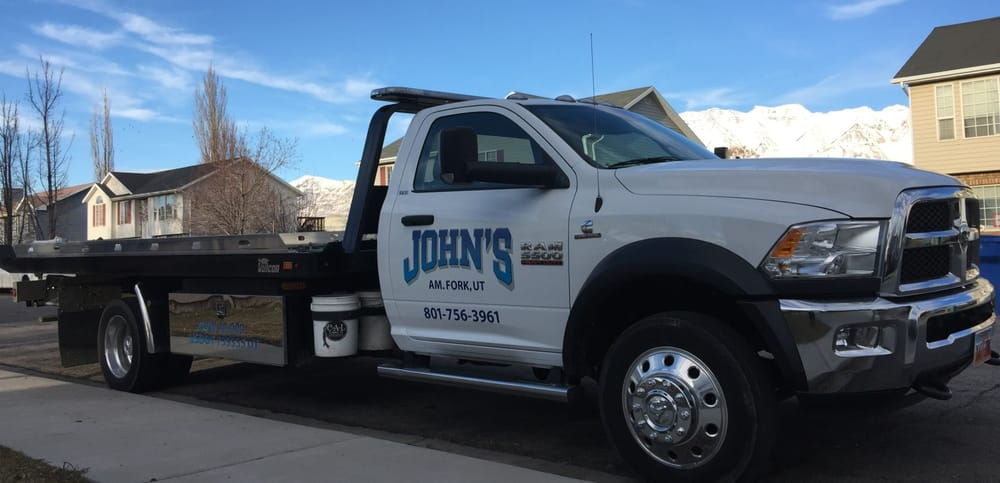 John's Towing: 74 S 500th E, American Fork, UT