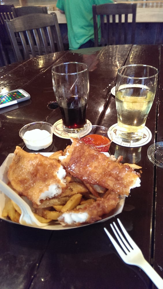 Best fish and chips ever runner up to what i 39 ve had in for Anchor fish and chips