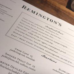Photos for Remington's   Menu - Yelp