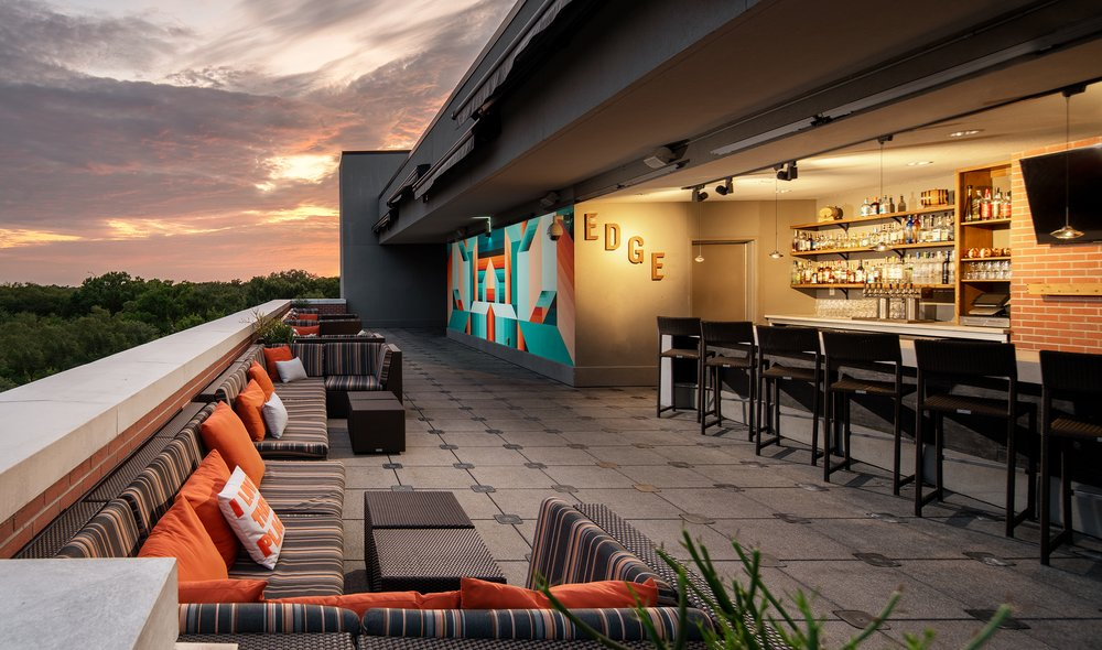 EDGE Rooftop Cocktail Lounge: 1207 S Howard Ave, Tampa, FL