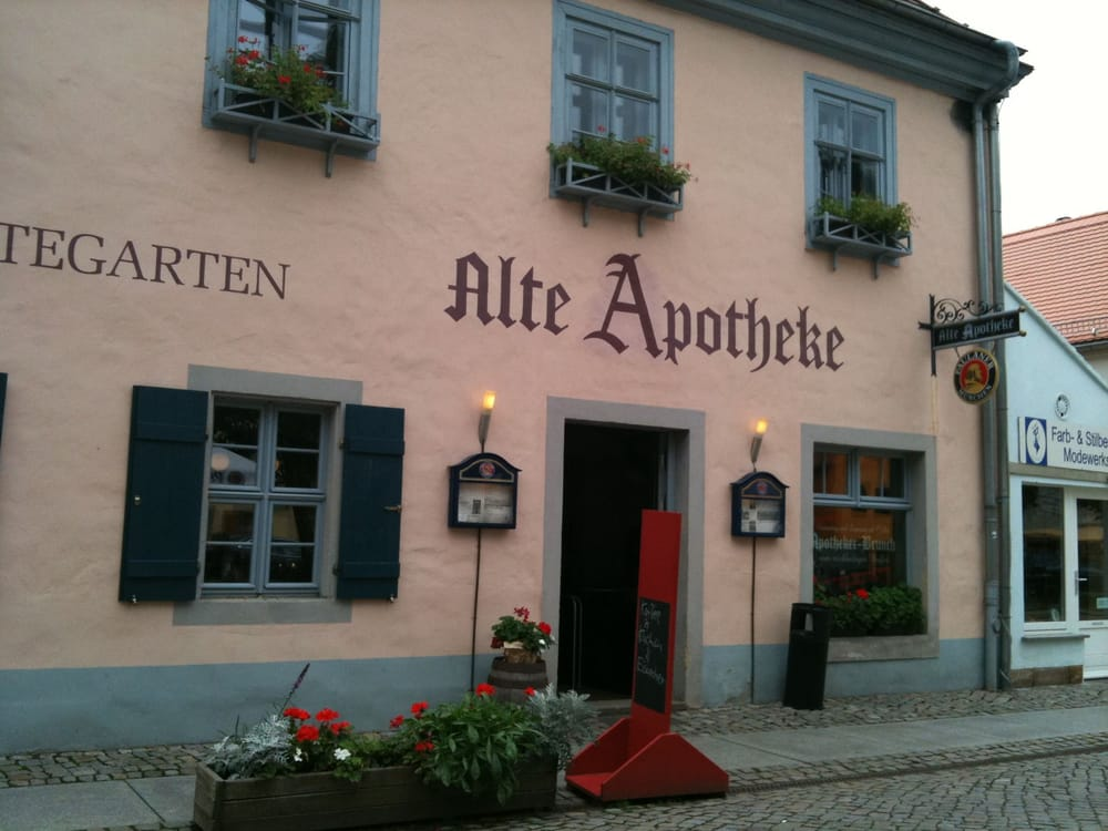 Alte Apotheke - 15 Beiträge - Deutsch - Altkötzschenbroda 48 ...