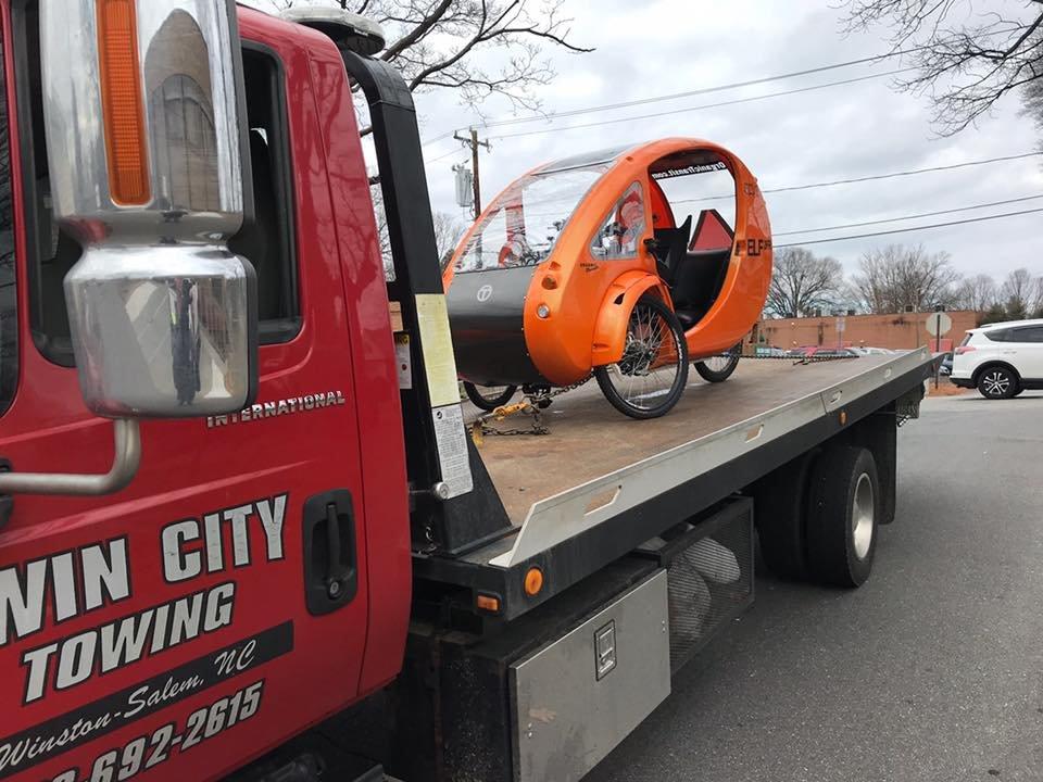 Twin City Towing: Winston-Salem, NC