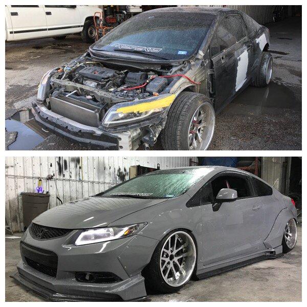 Custom Finishoverhaul On This Honda Civic Show Car Yelp - Overhaul car show