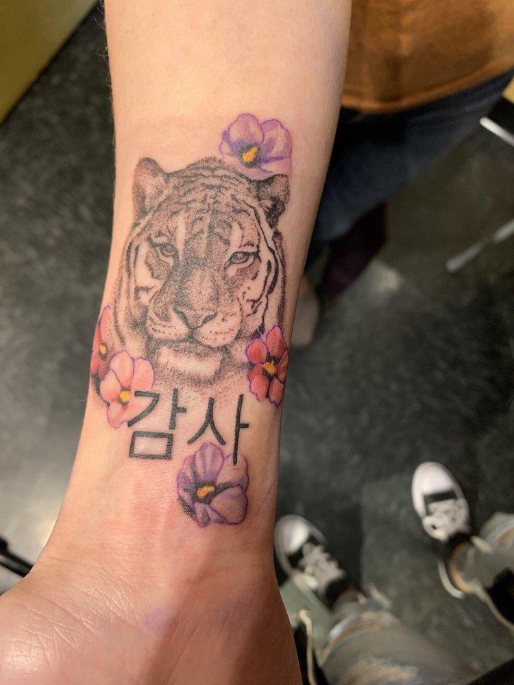 Tiger Tattoo By Kurt Yelp