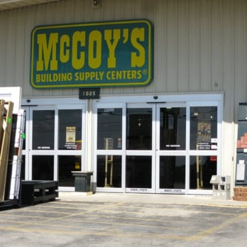 Mccoy Building Supply Store Hours