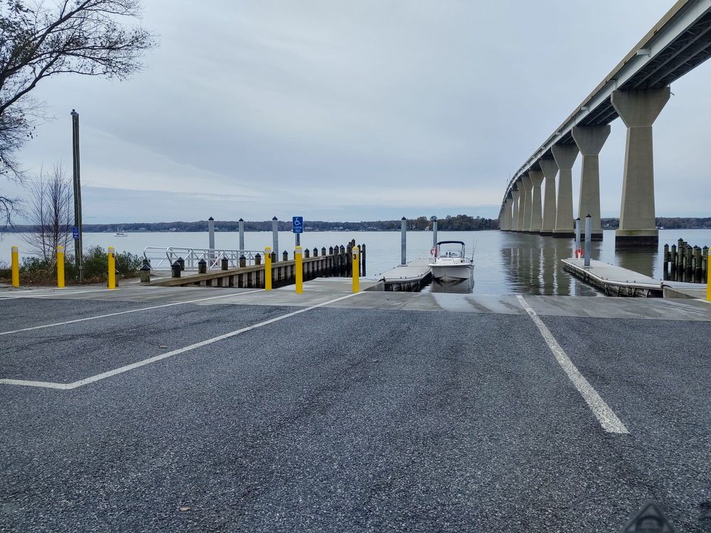 Calvert County Boat Launch: 14175 Solomons Island Rd S, Solomons, MD