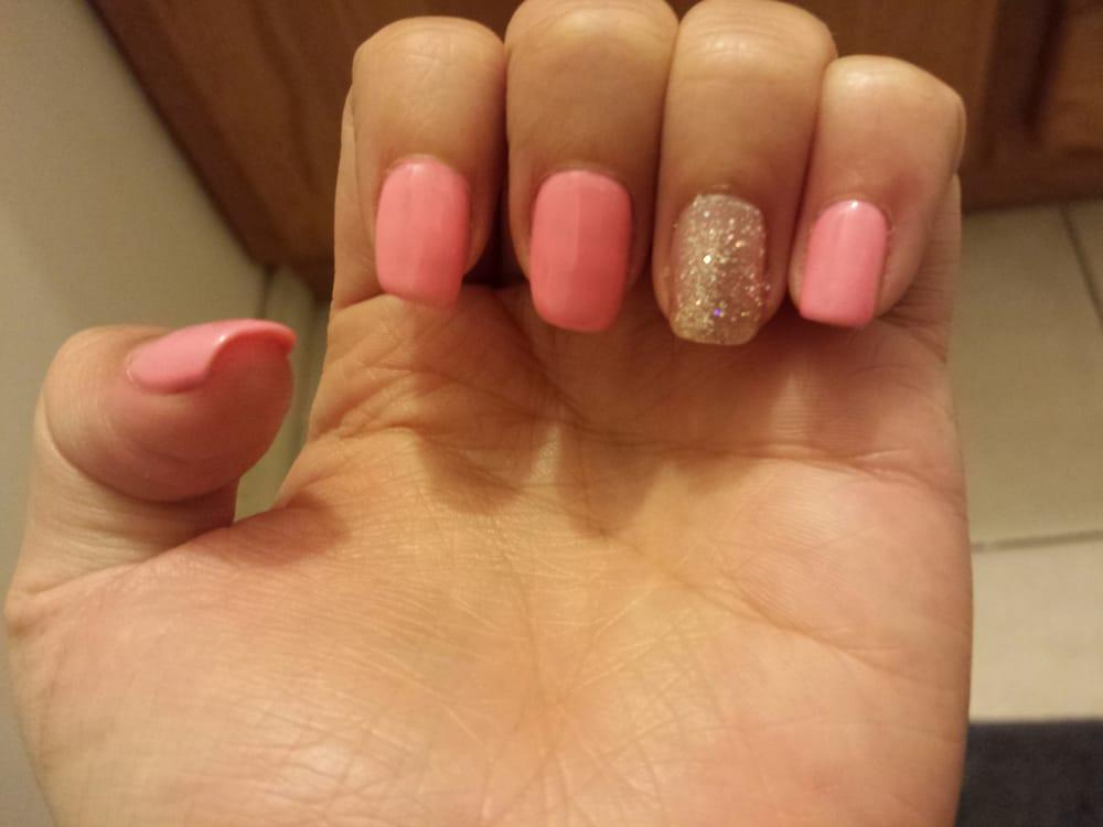 My natural nails with gel polish - Yelp