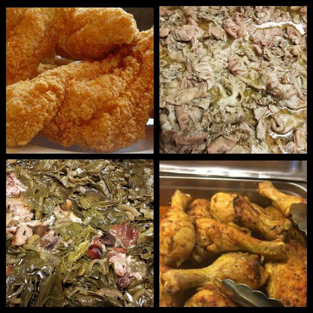 Haliburton's Soul Food: 1506 New Dallas Hwy, Bellmead, TX