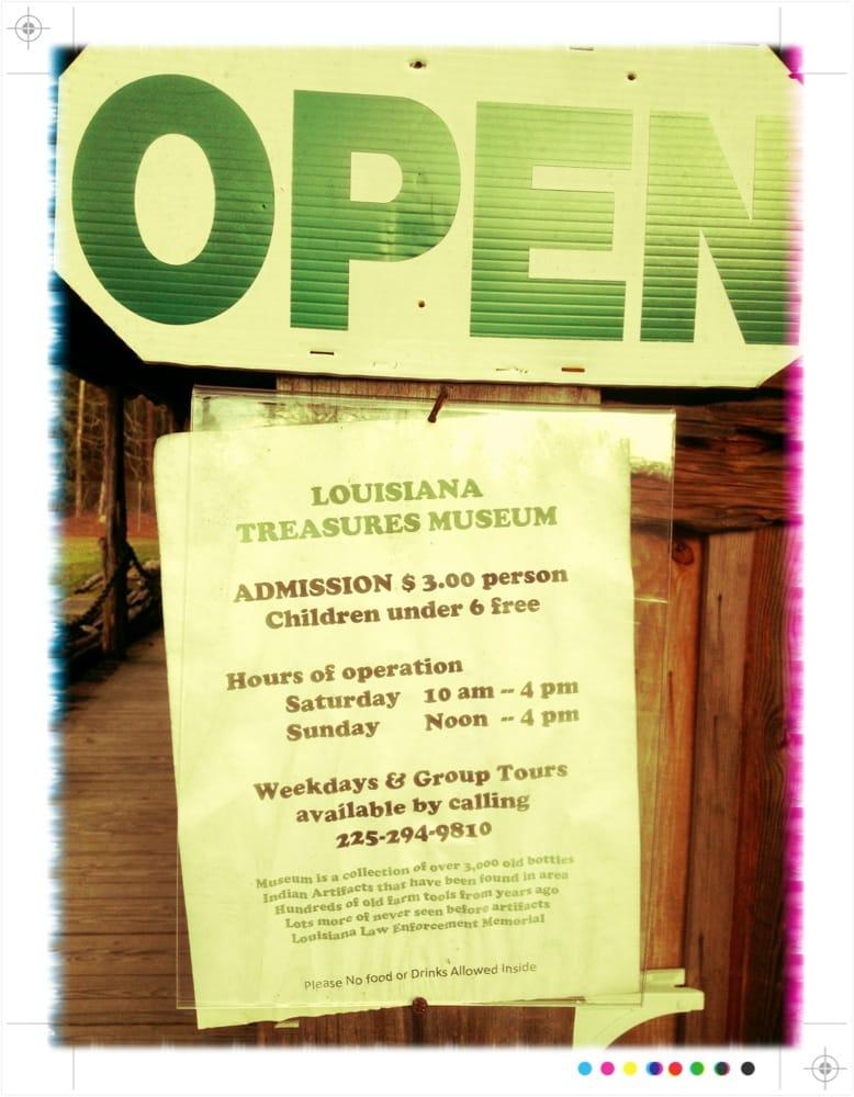 Louisiana's Treasures Museum: 10290 Hwy 22 W, Ponchatoula, LA
