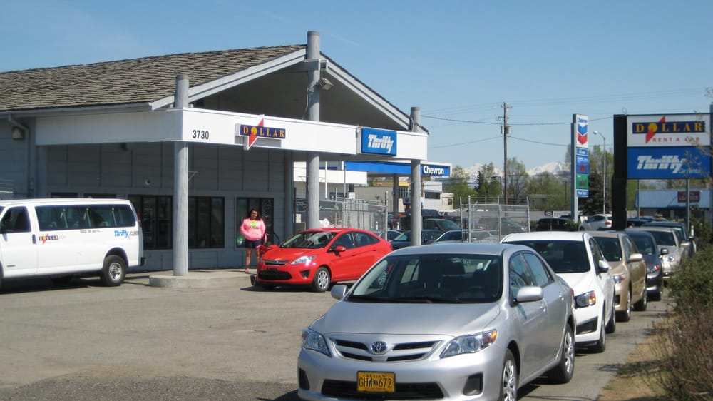 Dollar Rent A Car And Thrifty Car Rental City Location At
