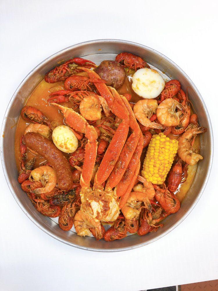 Kajun Seafood: 3010 Washington Blvd, Beaumont, TX