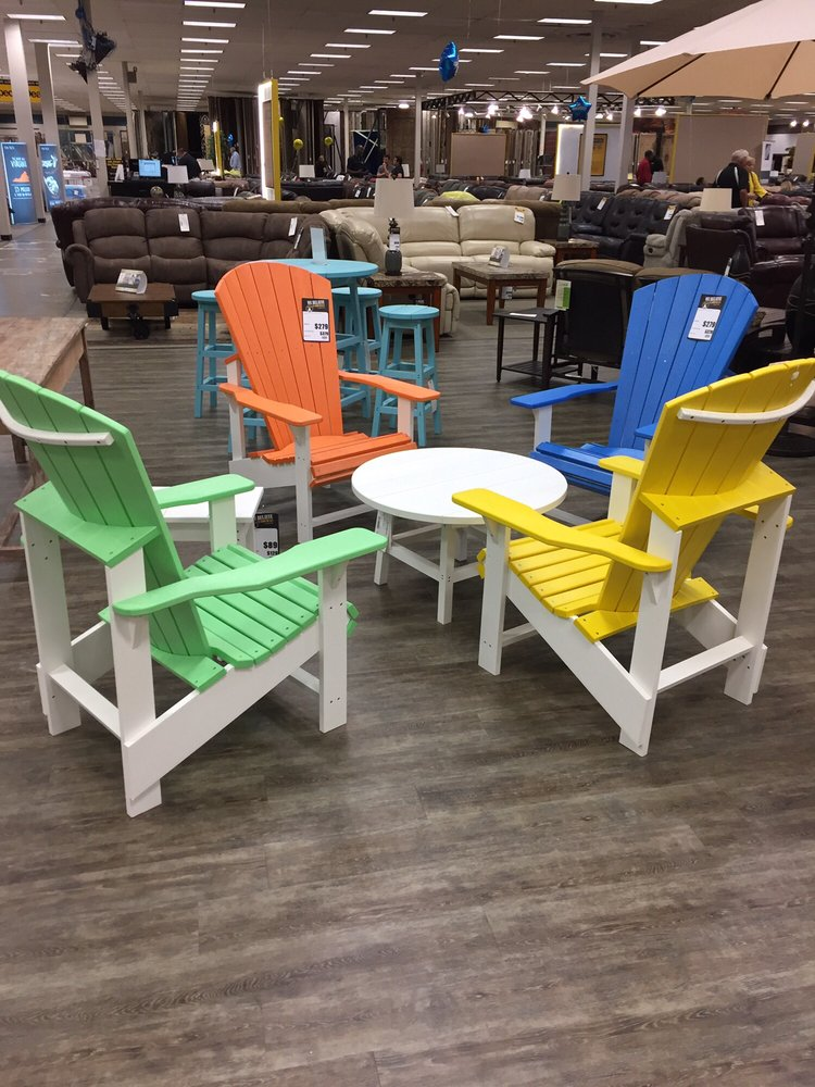 Who doesn 39 t love a little or a lot of color in their for The dump furniture
