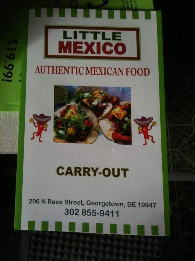 Little Mexico: 206 N Race St, Georgetown, DE