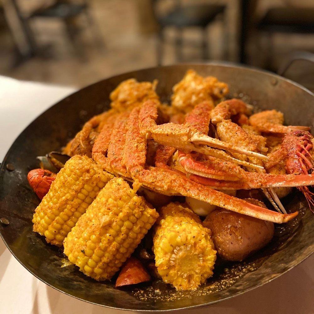 Cajun Boiling Seafood and Bar: 2760 Brice Rd, Reynoldsburg, OH