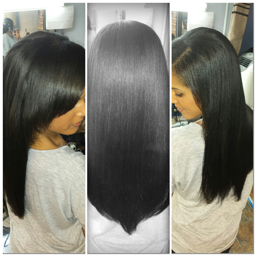 Side Part Sew In Weave Yelp