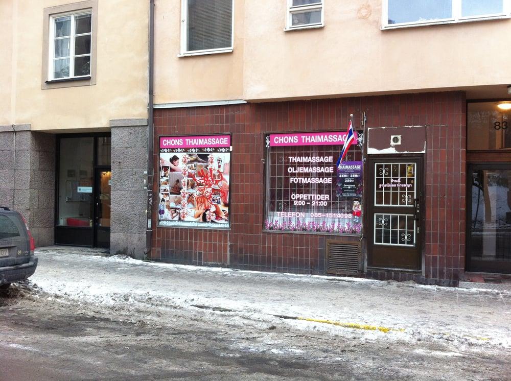 o billig thaimassage stockholm