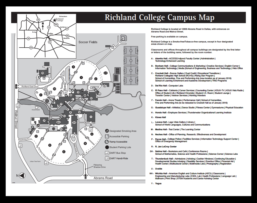 Map Of The Campus Yelp
