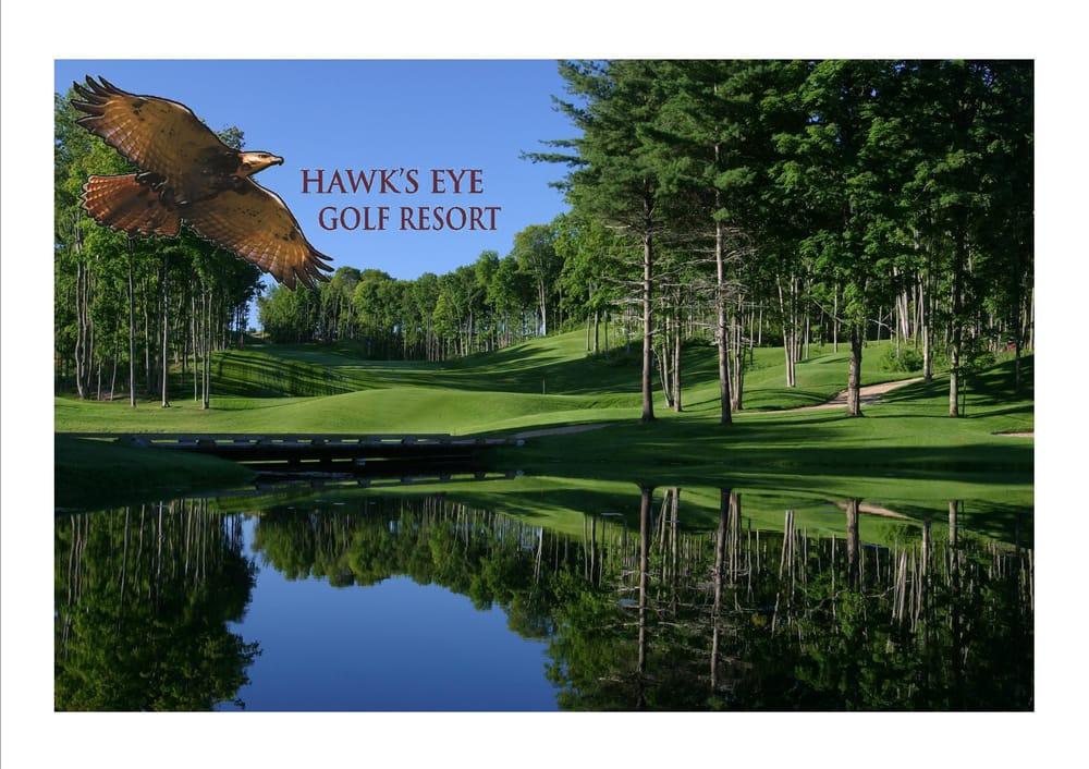 Hawk's Eye Golf Resort: 2620 Hawks Eye Drive Rd, Bellaire, MI