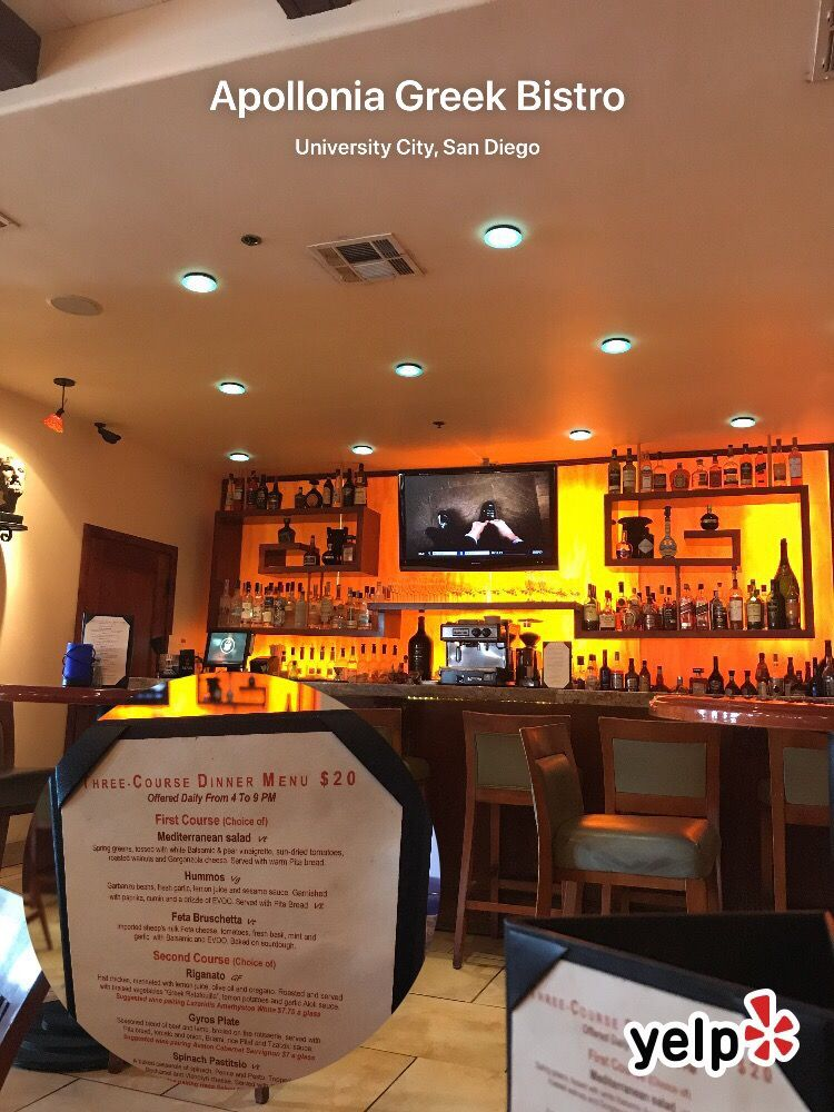 Apollonia restaurant san diego