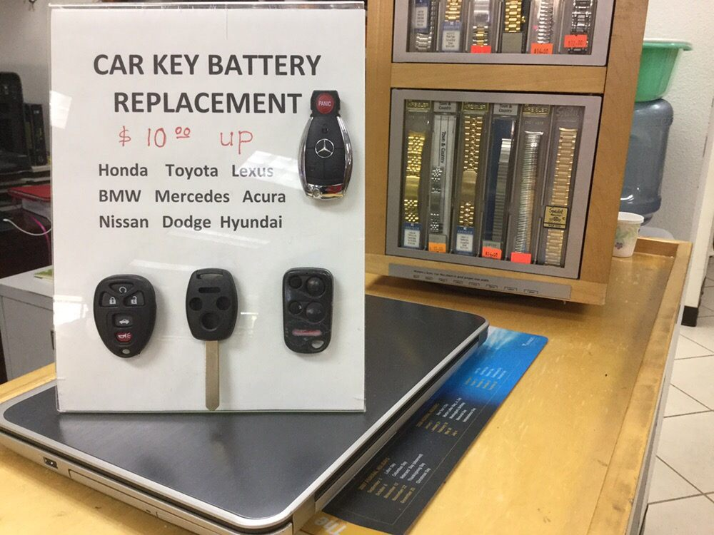 Car key battery replacement  - Yelp