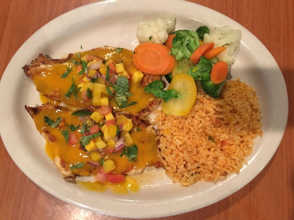 Food from La Cabana Mexican Restaurant